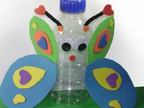 Manualidades con reciclaje para niños de preescolar - Imagui