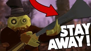 The SCARIEST robot in the game! (Sir You Are Being Hunted #4)