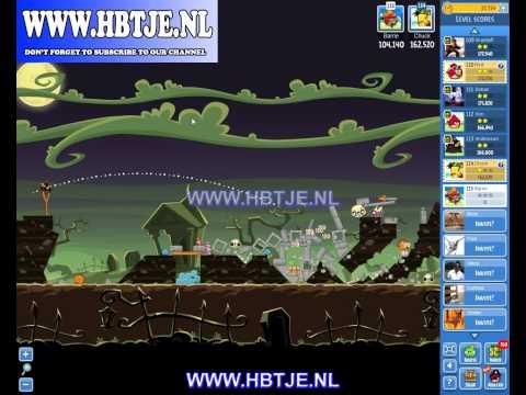 Angry Birds Friends Halloween Tournament Level 1 (tournament 1) no power-ups