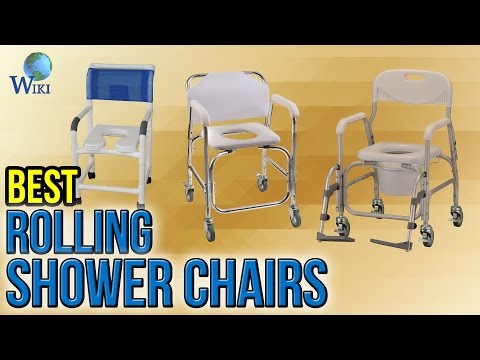 6 Best Rolling Shower Chairs 2017