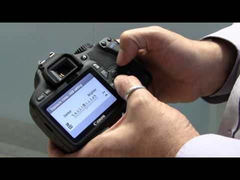 Canon EOS 550D / Rebel T2i hands-on video