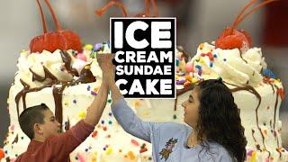 Cake Boss's Sofia & Marco make the BEST Ice Cream Sundae Cake EVER  | Welcome to Cake Ep12