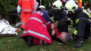 NRWspot.de | Ev. Stiftung Volmarstein – Großübung Feuerwehr, Katastrophenschutz, DRK