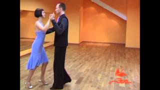 Видео урок. Аргентинское танго - фигура