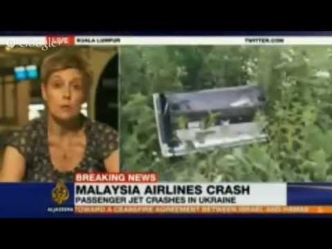Live Breaking News - Malaysia Airlines MH17 crashes on Ukraine-Russia border