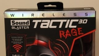 Creative Sound Blaster Tactic3D Rage Wireless Gaming