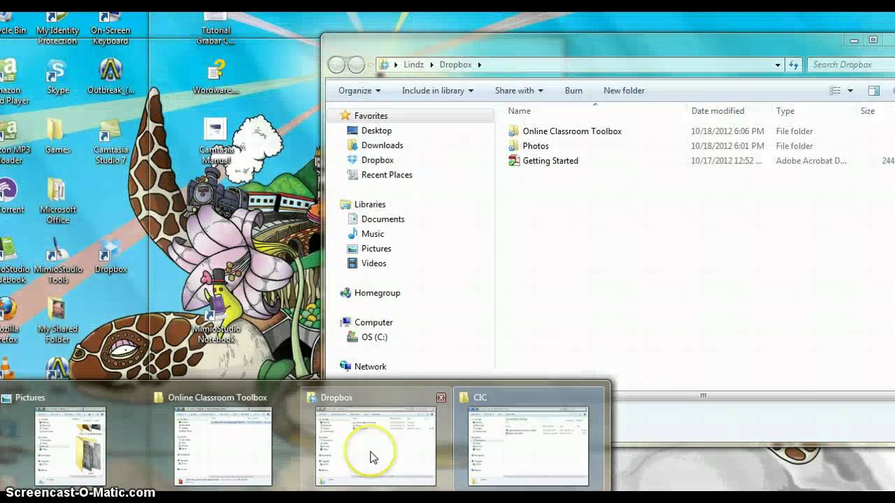 Dropbox for the classroom