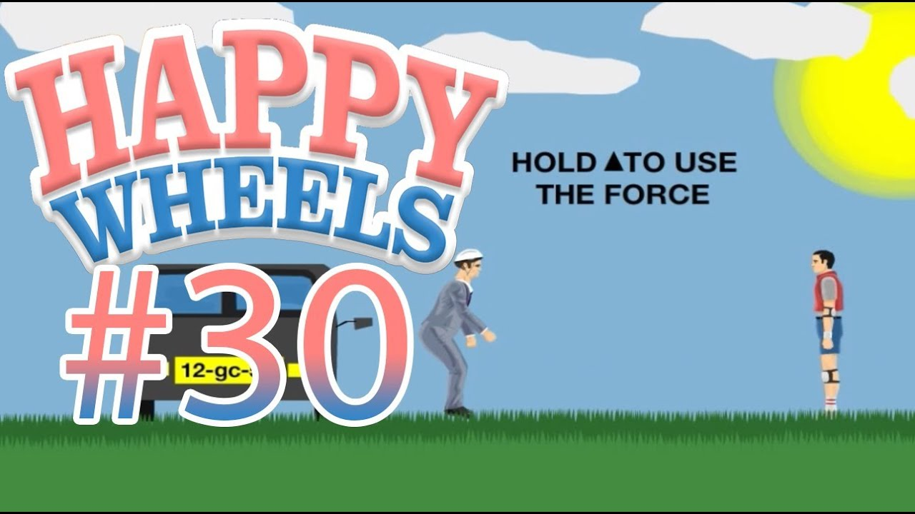 happy wheels 30