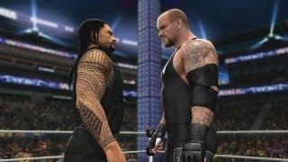 Roman Reigns Vs. The Undertaker In WWE 2K14's Defeat The