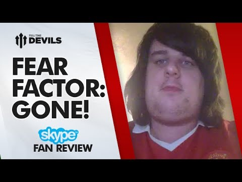 Fear Factor: Gone! | Manchester United 2-1 Sunderland (3-3 Agg) Capital One Cup | SKYPE FANCAM