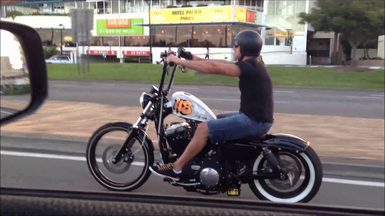 Harley Davidson Custom Bobber Chopper Sportster Forty