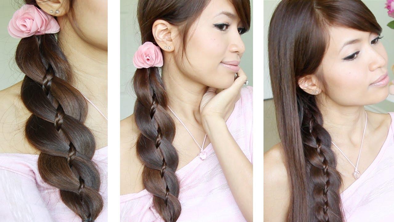 Повседневные простые прически длинные волосы