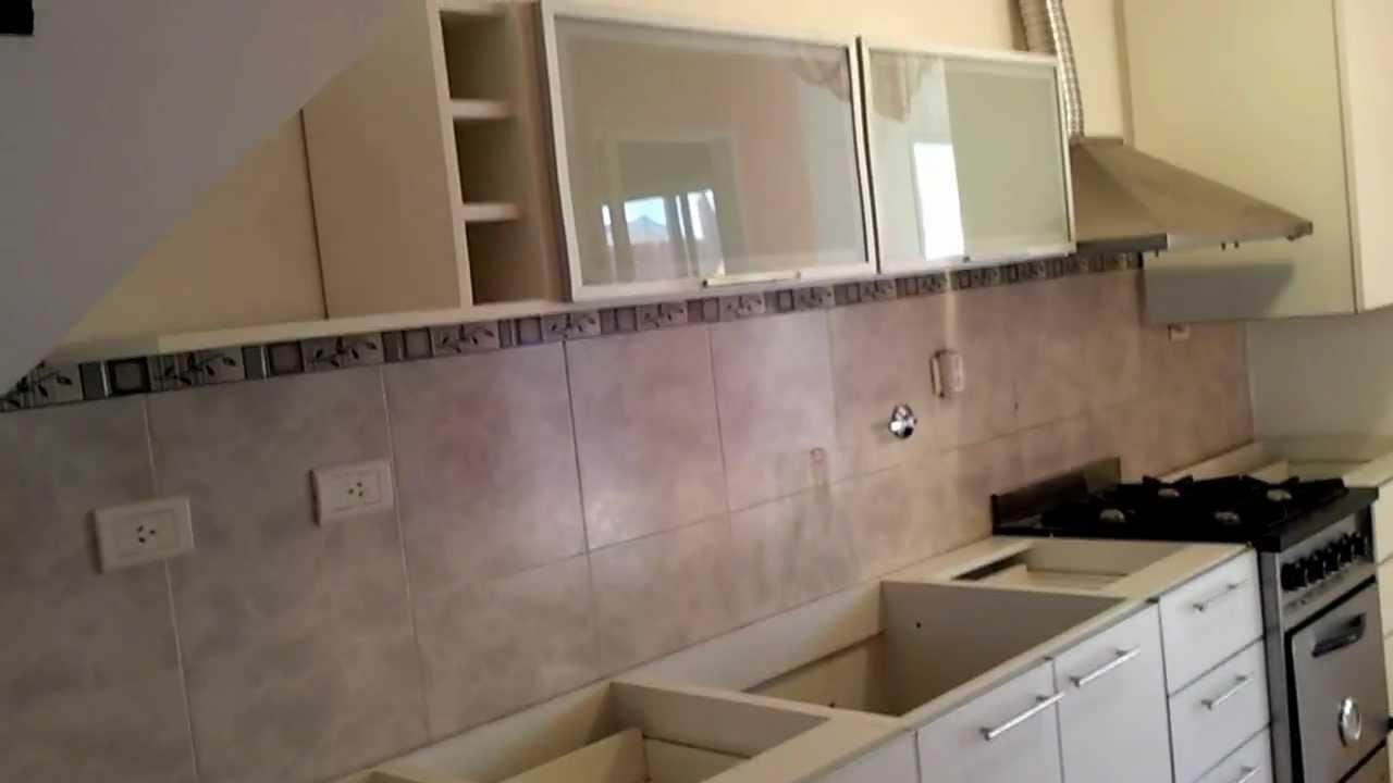 Fabrica muebles de cocina alacenas puertas vidriadas youtube - Puertas muebles cocina ...