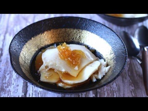Tào phớ, Đậu hủ nước đường (Silken Tofu in ginger syrup)