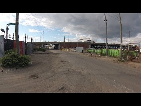 Forgotten New York - Greenpoint & Maspeth Industrial Areas - Newtown Creek - Calvary Cemetary