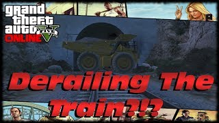 GTA 5 I Broke The Game Trying To Derail The Train! Dump