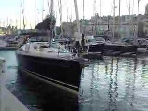 Yacht Mooring Perfectly in Malta