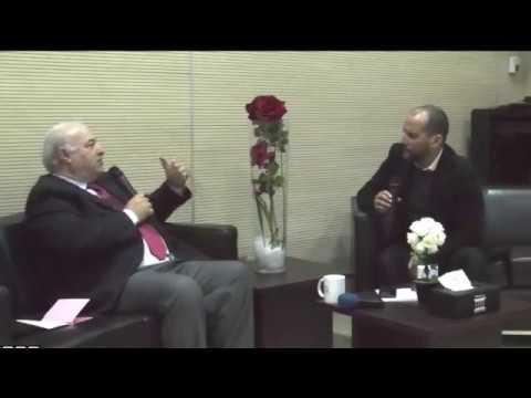 ضيف بيت الصحافة بطنجة: عميد الإعلاميين المغاربة في المهجر وكبير مراسلي الجزيرة بواشنطن محمد العلمي