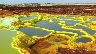 The Amazing Scenery of Dallol, Ethiopia