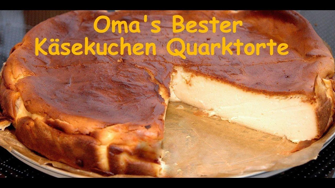 oma 39 s bester k sekuchen quarkkuchen nach alten rezept ohne boden locker lecker youtube. Black Bedroom Furniture Sets. Home Design Ideas