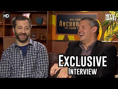 Judd Apatow and Adam McKay Interview: Anchorman 2: The Legend Continues