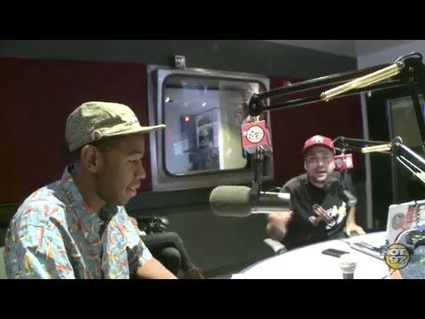 Tyler The Creator at Hot97