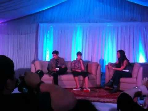 Justin Bieber - My World Tour in Manila - Press Conference