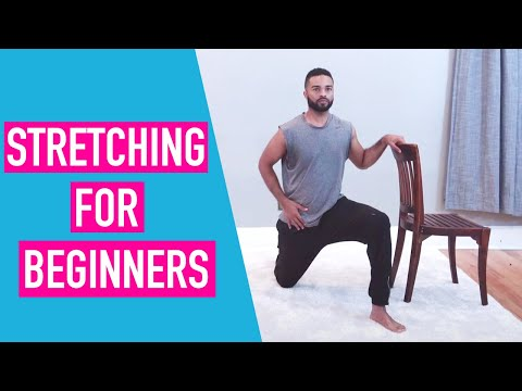 Stretching for Beginners - Even if you think you're too stiff...