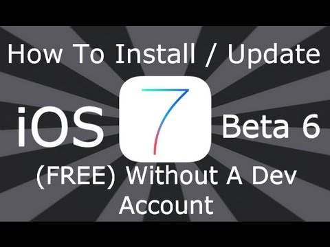 tutorial: How To Install / Update To NEW iOS 7.0.2 Without a Dev Account Or UDID