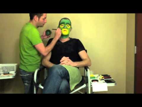 jim carrey grinch makeup process video Jim Carrey Grinch Makeup