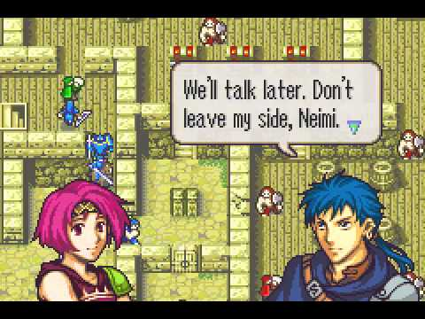 Fire Emblem - The Sacred Stones - Fire Emblem - The Sacred Stones Chapter 3 (GBA) - User video