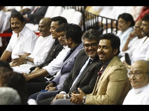 'Mass Koodam' - Superstars Gathering | 100 years of Indian Cinema | Ajith | Vijay | Rajinikanth - BW