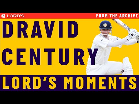Highlights: Rahul Dravid's Test century at Lord's - 2011