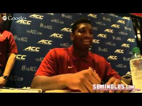 Jameis Winston and P.J. Williams ACC Kickoff Hangout