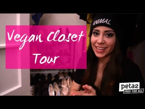 ♥ Closet Tour (Vegan!) ♥ | Annie From peta2