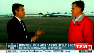 Romney: We Always Correct False Statements in Our Ads