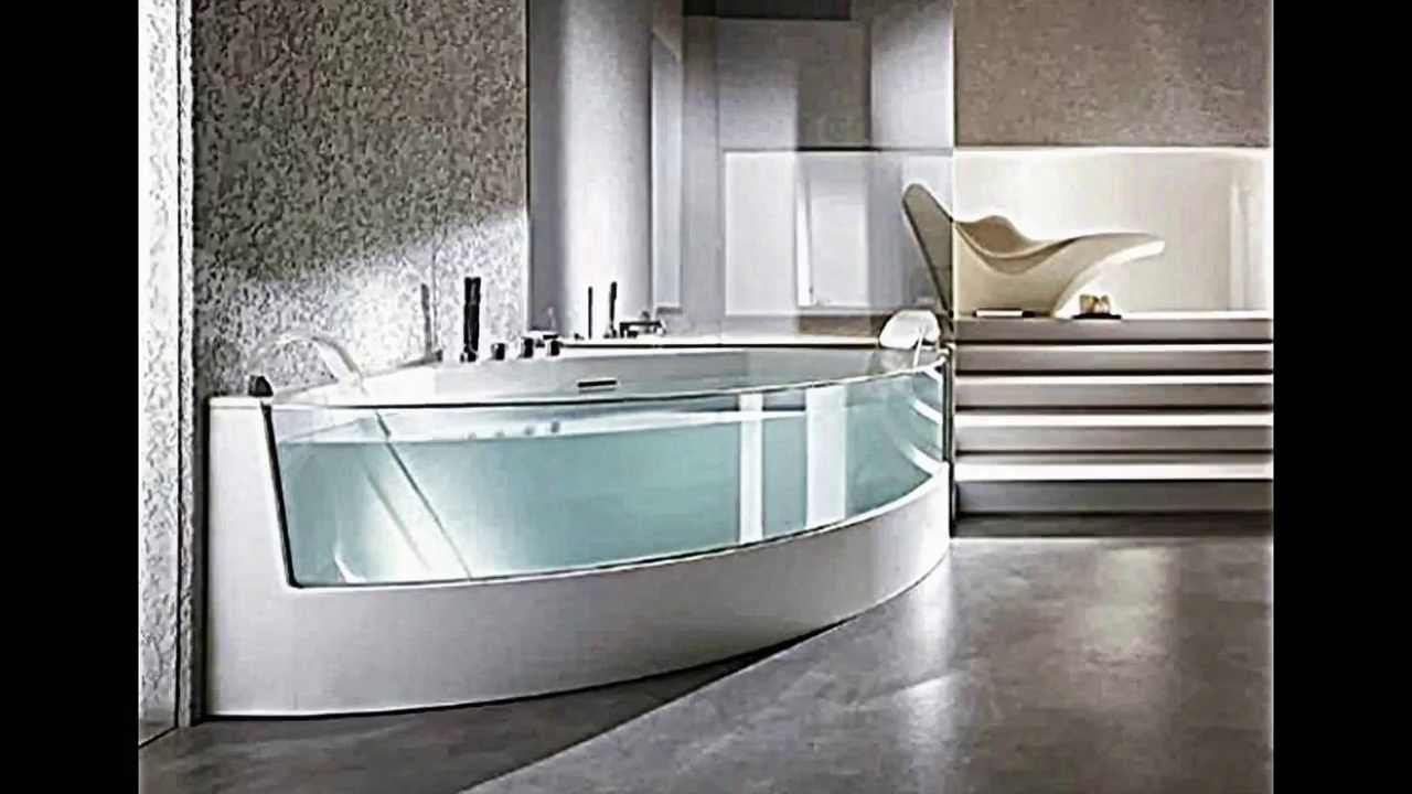 ergonomische eck badewanne mit dusche und whirlpool funktion von teuco youtube. Black Bedroom Furniture Sets. Home Design Ideas