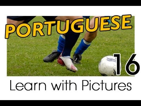 Learn Portuguese with Pictures -- Play Ball! Sports Names in Brazilian Portuguese