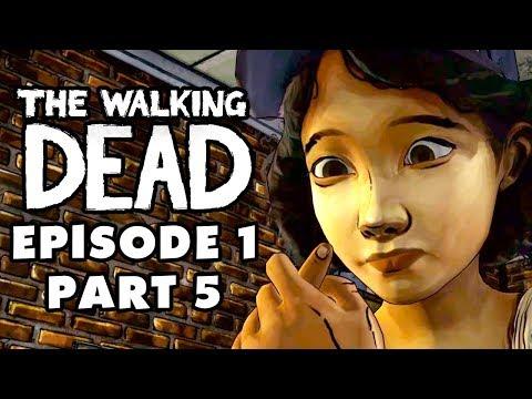 The Walking Dead Game - Episode 1, Part 5 - Pharmacy (Gameplay Walkthrough)