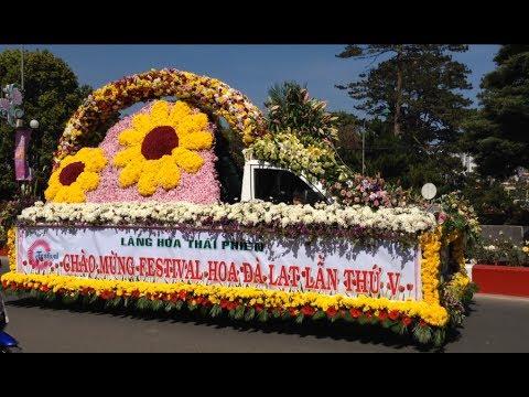 Festival Hoa Đà Lạt lần 5 - xe hoa rất đẹp