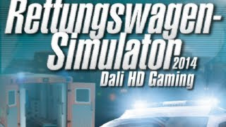 Rettungswagen / Ambulance Simulator 2014 PC Gameplay HD