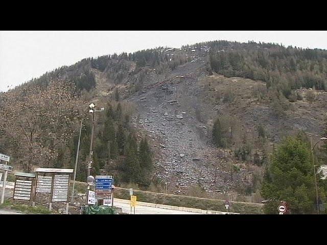 Mont Blanc Tüneli heyelandan dolayı kapatıldı
