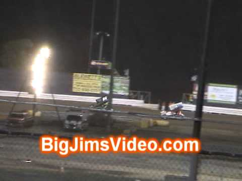 New Egypt Speedway 305 Sprint Car Feature Highlights