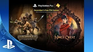 Free PlayStation Plus games for December revealed