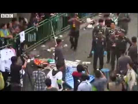 Thai protests: Attackers strike Bangkok protest camp