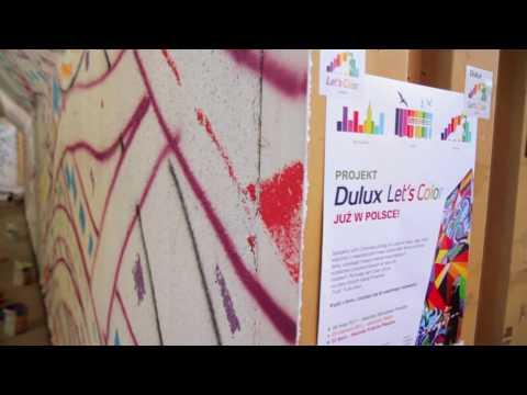 Dulux - Let's Color - malujemy dworzec Kraków-Płaszów (time lapse)