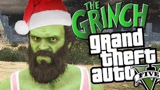 GTA 5 How The Grinch Stole Christmas (Funny Moments In