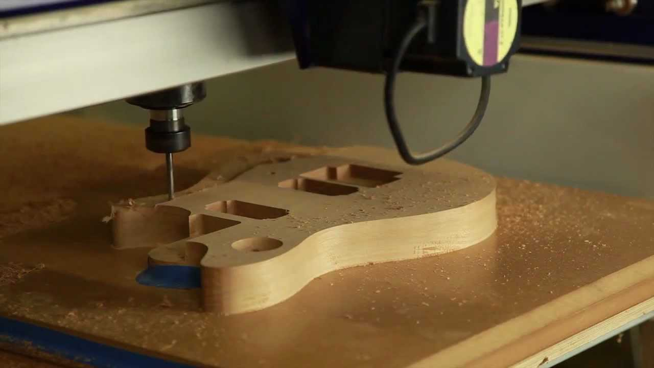 Dvd Volume 2 Cnc Guitar Machining Youtube