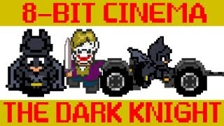 Batman The Dark Knight as an 80s Video Game