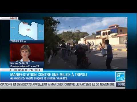 Jean Jacques Demafouth sur F24. Flambée de violence à Bangui